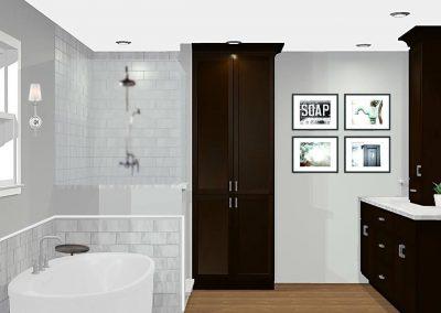 Renderings Bathroom Cabinets 1