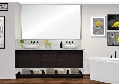 Renderings Bathroom Remodel 2