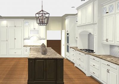Renderings Kitchen Cabinets 1