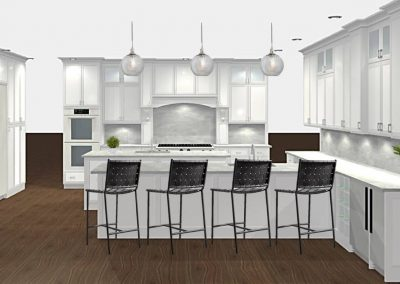 Renderings Kitchen Cabinets 2