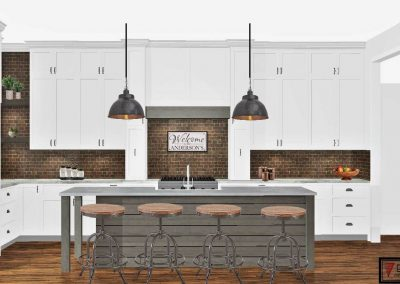 Renderings Kitchen Cabinets 3 1