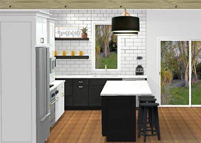 Renderings Kitchen Remodel 1