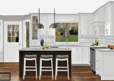 Renderings Kitchen Remodel 2