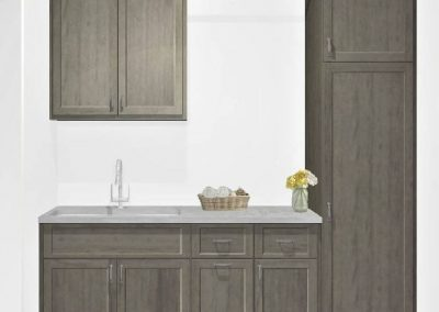 Renderings Laundy Room Cabinets 1