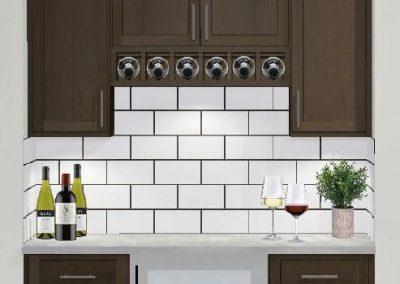 Renderings Wine Bar Cabinets 1