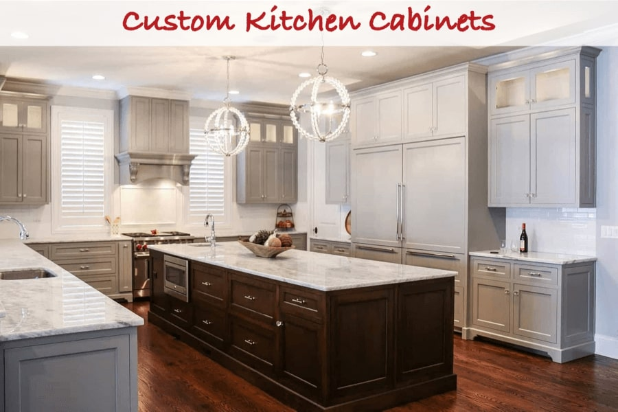 Spruce Up Your Kitchen with Custom Cabinets